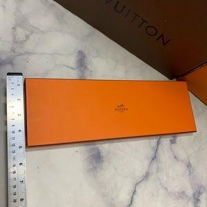 Hermes Party Supplies - HERMÈS empty tie cravate gift box